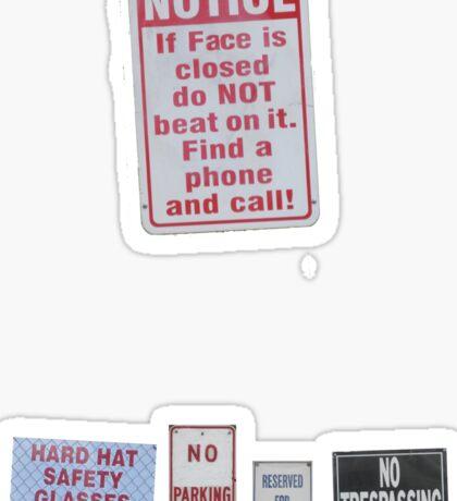 sIGn LanGUaGe Sticker