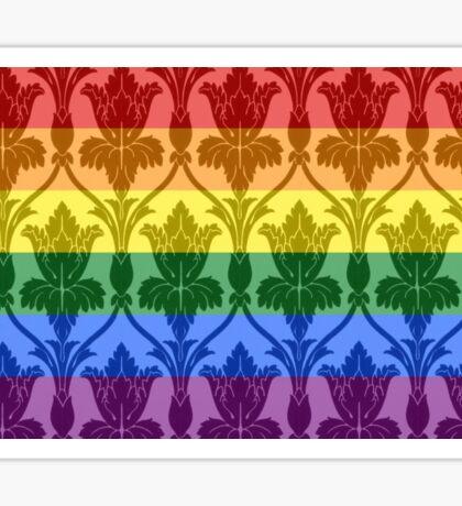 Sherlock Pride Flag Sticker