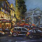 Paris after dark by Terri Maddock