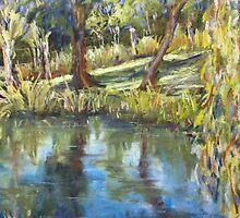 Jenny's pond by Terri Maddock