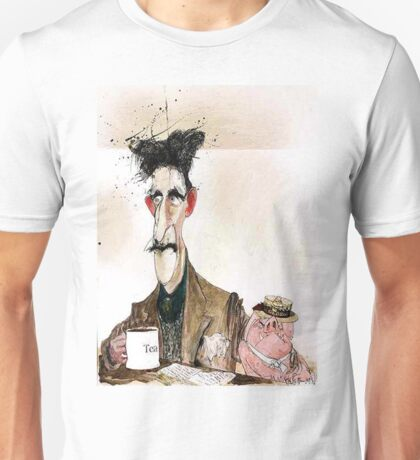 George Orwell Painting Unisex T-Shirt