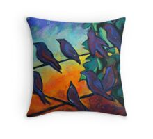 Night Vision translation for Sojie 15 workshop Throw Pillow