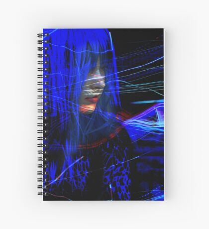 Freeway Meditation Spiral Notebook