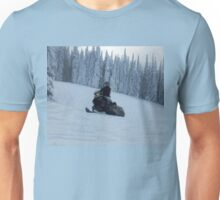 Snowmobiling Fool  - Snowmobiler Unisex T-Shirt