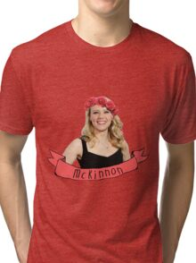 Flower McKinnon Tri-blend T-Shirt