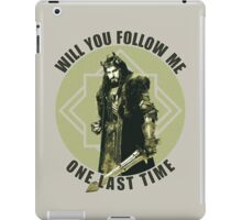 Will You Follow Me iPad Case/Skin
