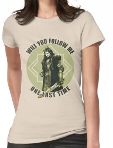 Will You Follow Me Womens Fitted T-Shirt
