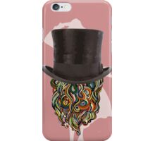 BEARD HEAD. iPhone Case/Skin