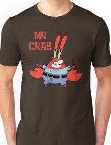 Mr. Crab Funny Smile Unisex T-Shirt