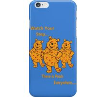 watch your step iPhone Case/Skin