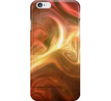 paint and ink in water #11 iPhone Case/Skin