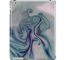 paint and ink in water #10 iPad Case/Skin