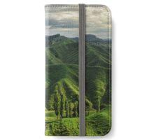 Crumpled Taranaki  iPhone Wallet/Case/Skin