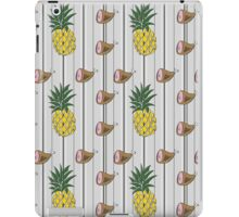 Ham & Pineapple Pinstripe iPad Case/Skin