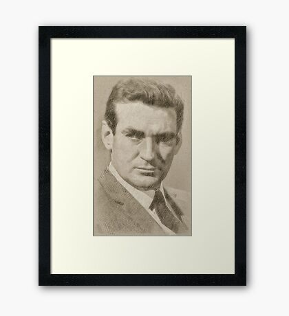 Rod Taylor, Actor Framed Print