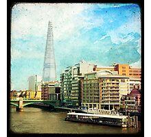 The Shard and The Thames - London Photographic Print