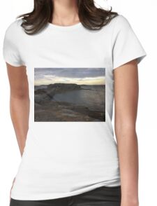 Beautiful gloomy day at La Perouse, Sydney, Australia  Womens Fitted T-Shirt