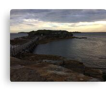 Beautiful gloomy day at La Perouse, Sydney, Australia  Canvas Print