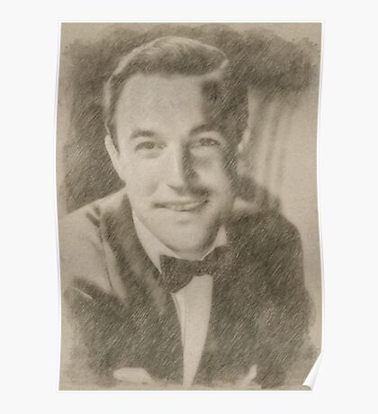 Gene Kelly, Actor and Dancer Poster