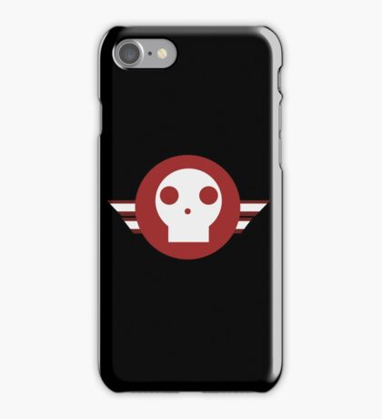 Skull squadron logo iPhone Case/Skin