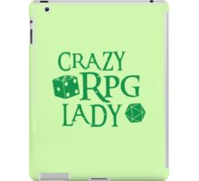 CRAZY RPG Lady iPad Case/Skin