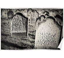 Tomb stones  Poster