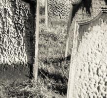 Tomb stones  Sticker
