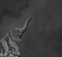 Circus Elephant by KateRobson