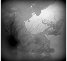 ink in water #11 Photographic Print