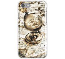 Old fashioned globe iPhone Case/Skin