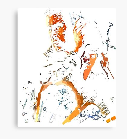 man has made his match... now it's his problem Canvas Print