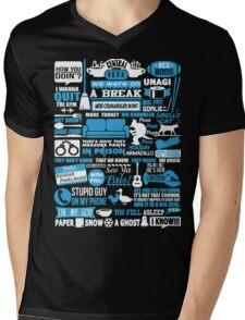 Central Perk. You fell asleep. I know Mens V-Neck T-Shirt