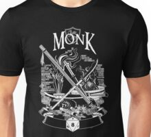 RPG Class Series: Monk - White Version Unisex T-Shirt