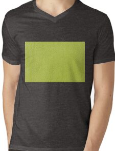 Bright green knitted fabric cloth texture Mens V-Neck T-Shirt