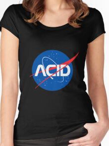 Acid Space Women's Fitted Scoop T-Shirt