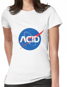 Acid Space Womens Fitted T-Shirt
