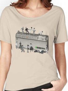Portable Music from the 50's Women's Relaxed Fit T-Shirt