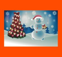 Snowman and Christmas tree Kids Clothes