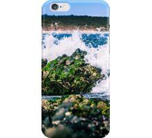 Wave Crash on Rock iPhone Case/Skin