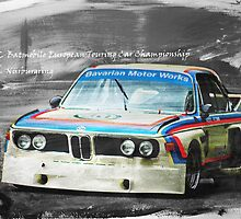 BMW 3.0 CSL Batmobile by Lightrace