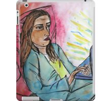 bored on pc  iPad Case/Skin
