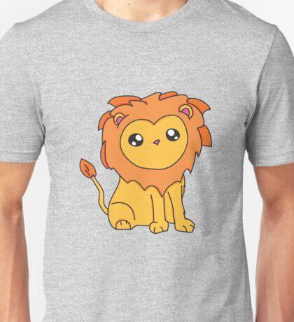 Cartoon Lion Unisex T-Shirt