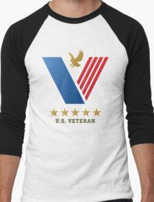 U.S. VETERAN....thank you for your service! Men's Baseball ¾ T-Shirt