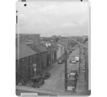 the outskirts of dublin city from the dart train iPad Case/Skin