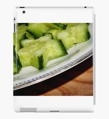 cucumber.stars iPad Case/Skin