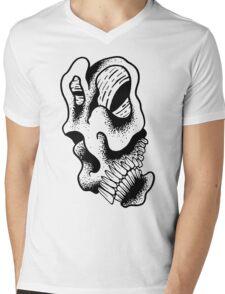 Gnarled Skull - A88 Mens V-Neck T-Shirt
