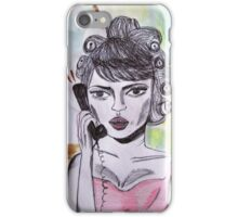 I am busy now man! iPhone Case/Skin