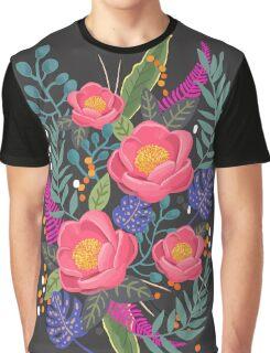 Night Blossom art print Graphic T-Shirt