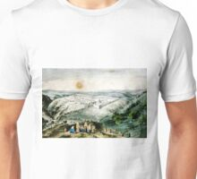 Jerusalem - 1846 - Currier & Ives Unisex T-Shirt