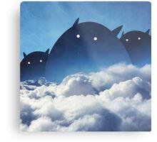 Beyond the Clouds Metal Print